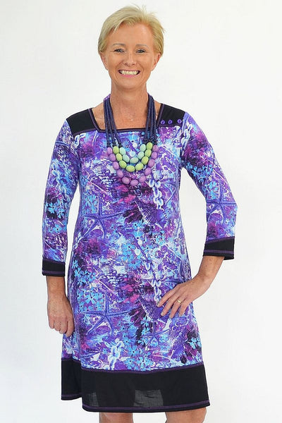Purple Patricia Tunic | I Love Tunics | Tunic Tops | Tunic | Tunic Dresses  | womens clothing online