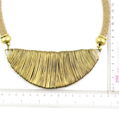 Golden wire choker necklace | I Love Tunics | Tunic Tops | Tunic | Tunic Dresses  | womens clothing online