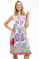 Orientique Apollo Cotton Dress | I Love Tunics | Tunic Tops | Tunic | Tunic Dresses  | womens clothing online