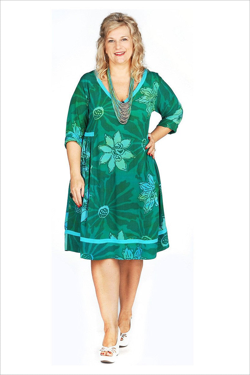 Green Lagoon Long Tunic | I Love Tunics | Tunic Tops | Tunic | Tunic Dresses  | womens clothing online