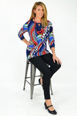Abigail Tunic | I Love Tunics | Tunic Tops | Tunic Dresses | Women's Tops | Plus Size Australia | Mature Fashion