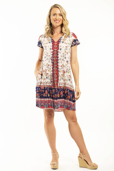 Orientique Elafonisa Tunic Dress