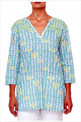Green Zig Zag Tunic | I Love Tunics | Tunic Tops | Tunic | Tunic Dresses  | womens clothing online