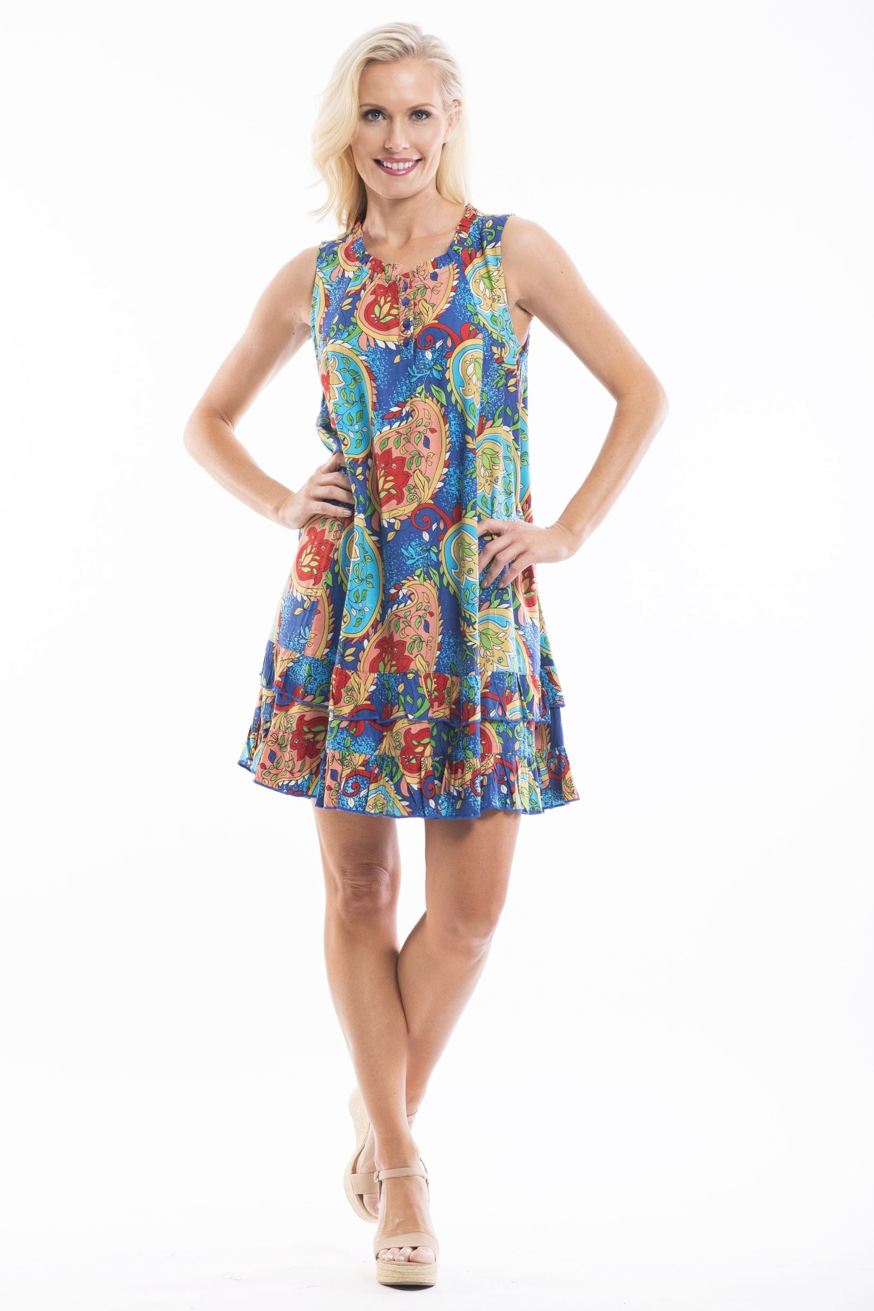 Kaira Joy Tunic Dress - at I Love Tunics @ www.ilovetunics.com = Number One! Tunics Destination