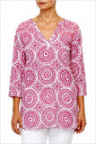 Hot Pink Circle Tunic - at I Love Tunics @ www.ilovetunics.com = Number One! Tunics Destination
