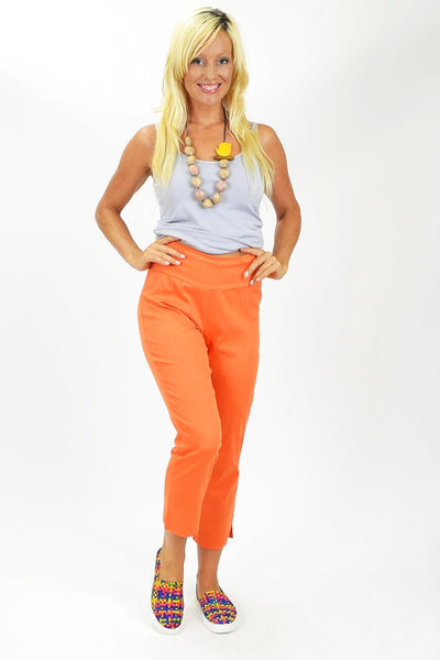 Orange Crop Pants - at I Love Tunics @ www.ilovetunics.com = Number One! Tunics Destination