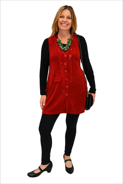 Red Betty Vest