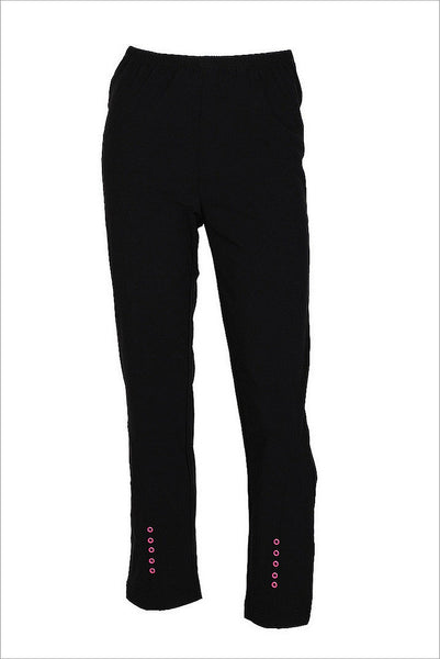 Clarity Pink Dot Pants - at I Love Tunics @ www.ilovetunics.com = Number One! Tunics Destination