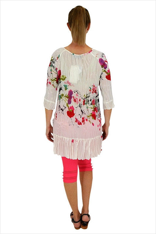 Japanese Painting Tunic - at I Love Tunics @ www.ilovetunics.com = Number One! Tunics Destination
