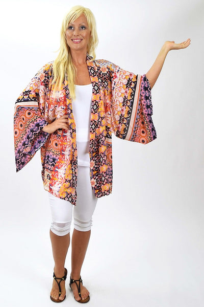 Kimono Jacket - at I Love Tunics @ www.ilovetunics.com = Number One! Tunics Destination