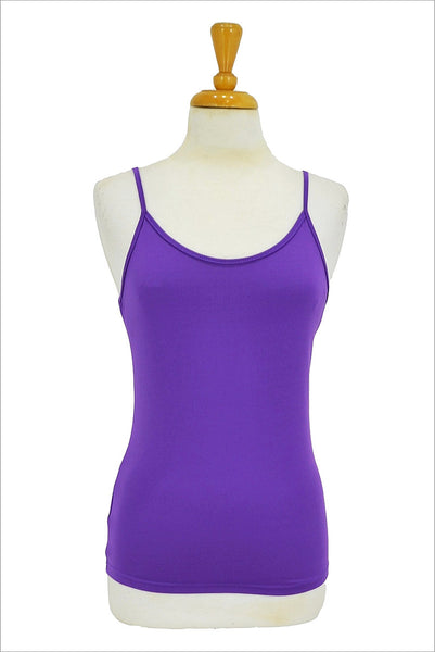 Purple Basic Singlet Top