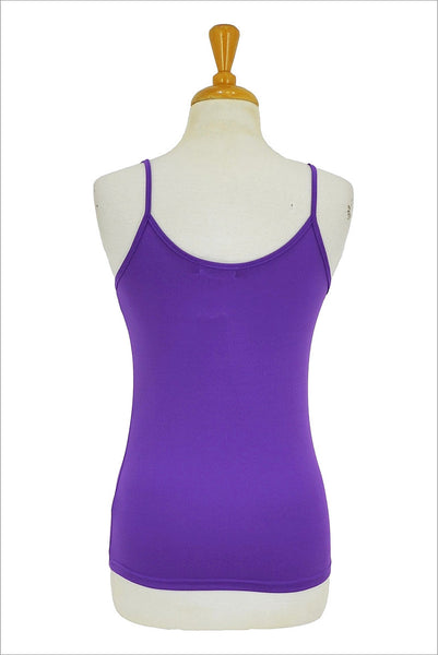 Purple Basic Singlet Top - at I Love Tunics @ www.ilovetunics.com = Number One! Tunics Destination