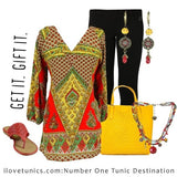 Raj Tunic - at I Love Tunics @ www.ilovetunics.com = Number One! Tunics Destination