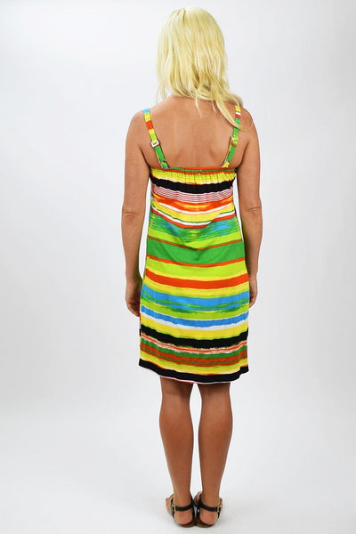 Lora Stripe Tunic Dress - I Love Tunics @ www.ilovetunics.com