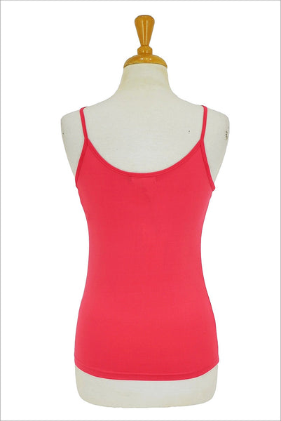 Pink Basic Singlet Top - at I Love Tunics @ www.ilovetunics.com = Number One! Tunics Destination