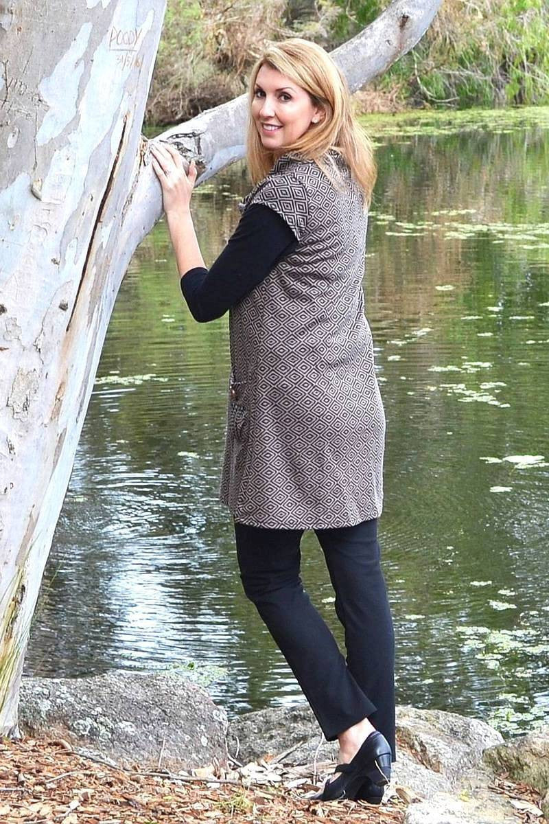 Coffee Paula Tunic | I Love Tunics | Tunic Tops | Tunic | Tunic Dresses  | womens clothing online