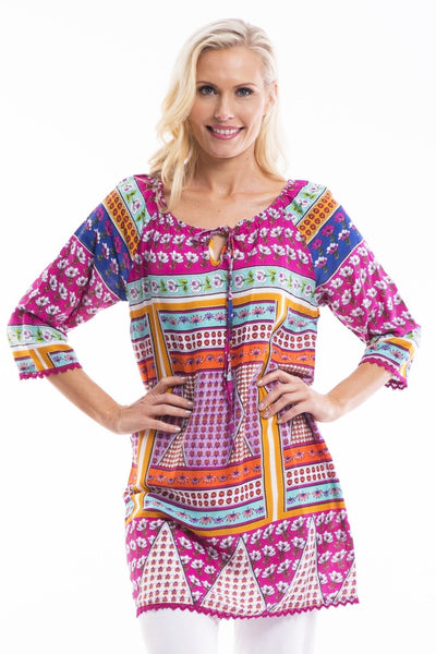 Welcoming Spring Tunic - at I Love Tunics @ www.ilovetunics.com = Number One! Tunics Destination