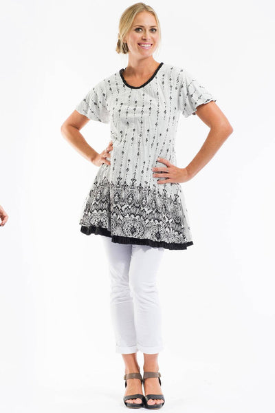 Miro Reversible Dress Tunic by Orientique