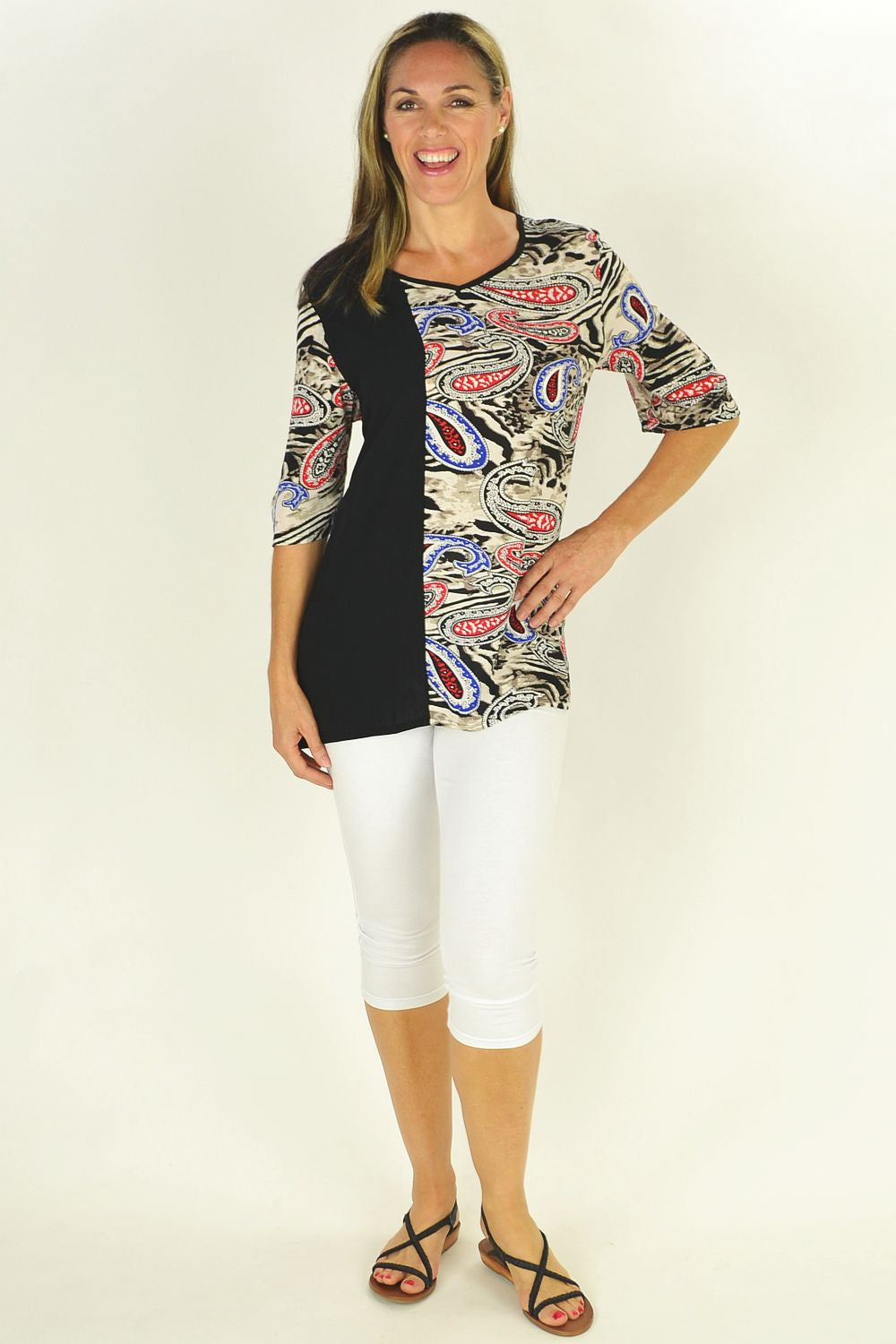 Penny Paisley Tunic - at I Love Tunics @ www.ilovetunics.com = Number One! Tunics Destination