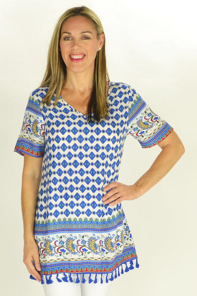 Greek Goddess Tunic - at I Love Tunics @ www.ilovetunics.com = Number One! Tunics Destination