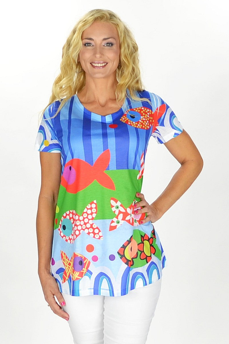 Reef Tunic - at I Love Tunics @ www.ilovetunics.com = Number One! Tunics Destination