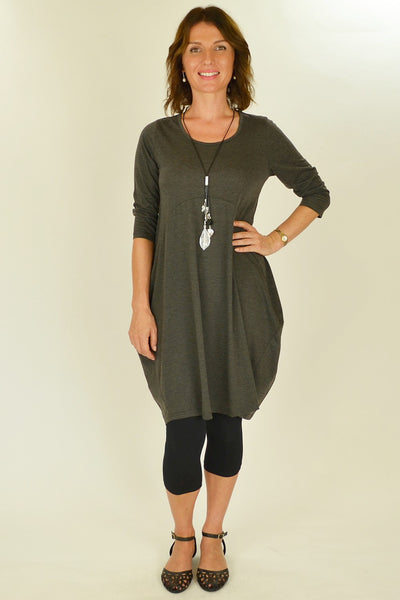 Grey Bobby Tunic