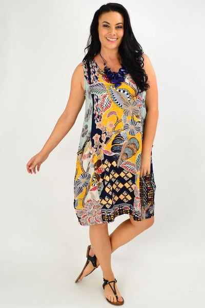 Andalucia Bubble Tunic Dress