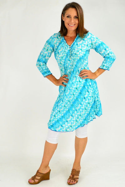Maggiore Cotton Tunic Dress by Orientique