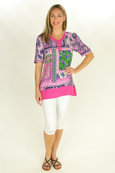 Flower Frame Tunic