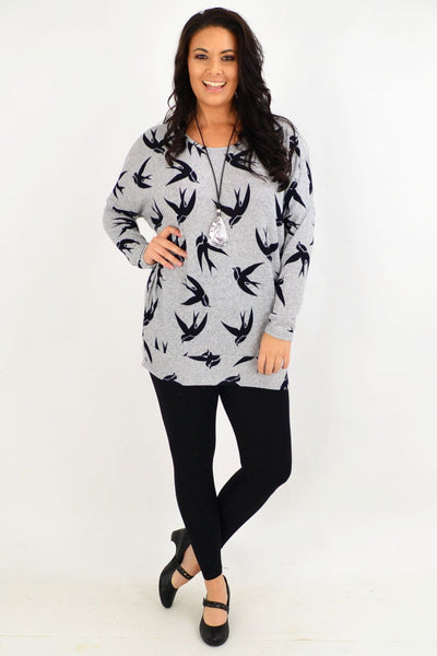 Birds of a Feather Tunic Top