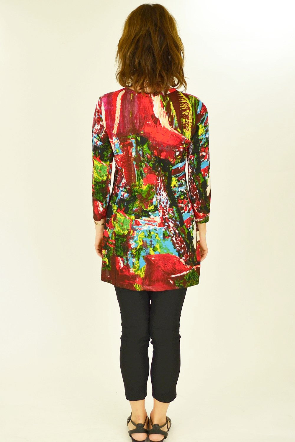 Ram Red Tunic Top - at I Love Tunics @ www.ilovetunics.com = Number One! Tunics Destination