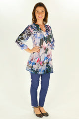 Flower Tree Shirt Tunic | I Love Tunics | Tunic Tops | Tunic | Tunic Dresses  | womens clothing online