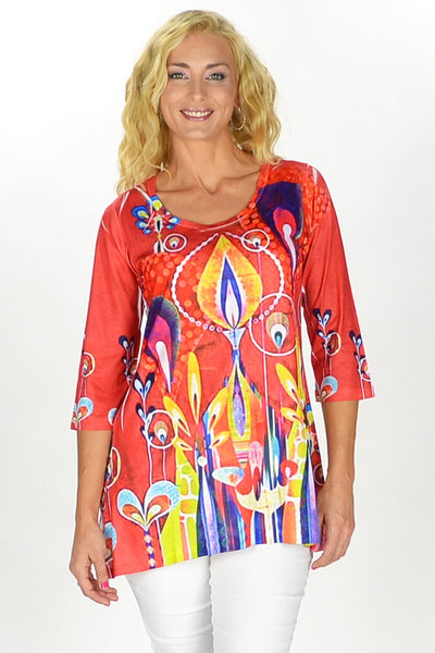 70's Throwback Tunic - at I Love Tunics @ www.ilovetunics.com = Number One! Tunics Destination