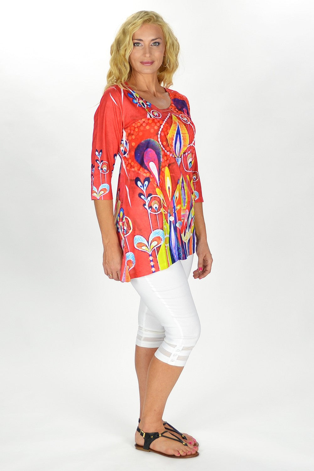 70's Throwback Tunic | I Love Tunics | Tunic Tops | Tunic Dresses | Women's Tops | Plus Size Australia | Mature Fashion