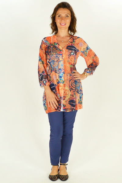 Cave Art Shirt Tunic