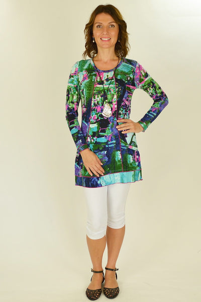 Lily Pond Tunic Top