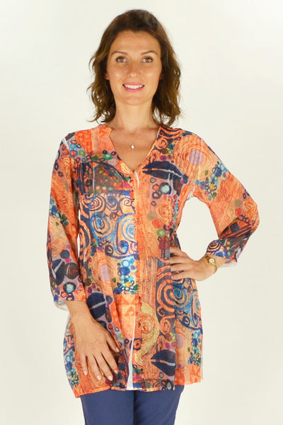 Cave Art Shirt Tunic - at I Love Tunics @ www.ilovetunics.com = Number One! Tunics Destination