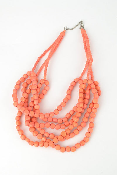 Apricot Necklace - at I Love Tunics @ www.ilovetunics.com = Number One! Tunics Destination