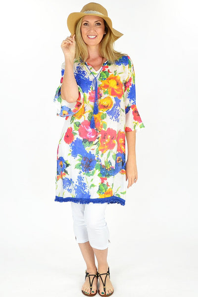 Floral Sunshine Tunic