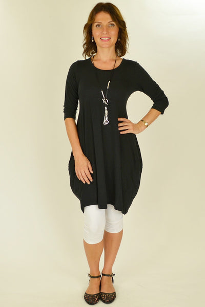 Black Bobby Tunic