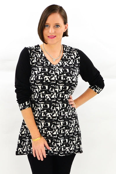 Jodie Tunic Top - at I Love Tunics @ www.ilovetunics.com = Number One! Tunics Destination
