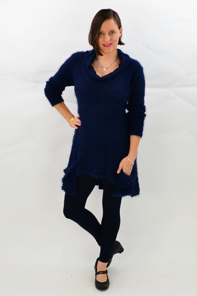 Navy Blue Katherine Tunic