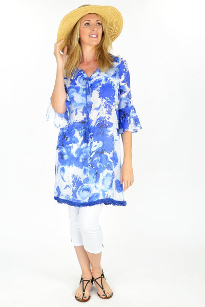 Blue Sunshine Tunic
