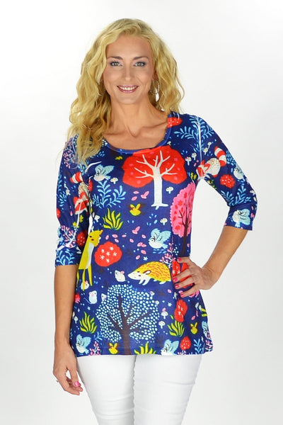 Blue Forest Tunic | I Love Tunics | Tunic Tops | Tunic | Tunic Dresses  | womens clothing online