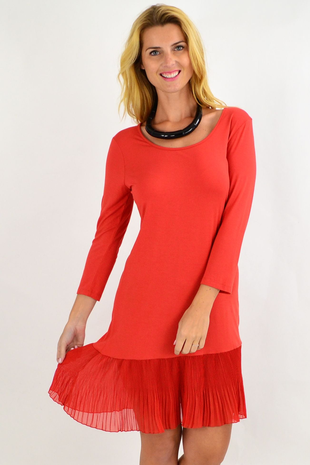 Clarity Burnt Orange Basic | I Love Tunics | Tunic Tops | Tunic | Tunic Dresses  | womens clothing online