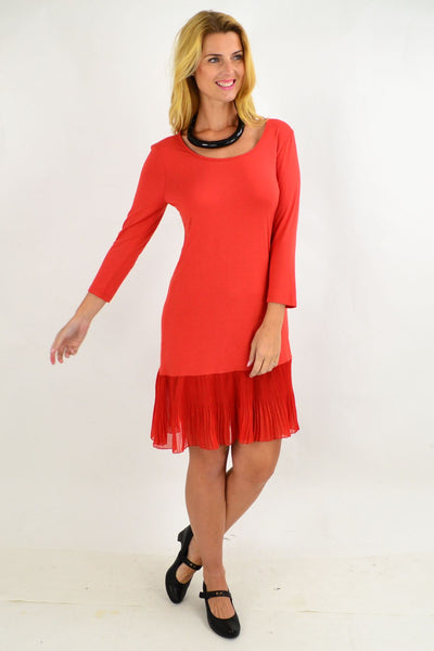 Bright Butterfly Tunic Dress