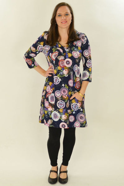 Autumn Flower Tunic
