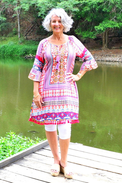 ilovetunics = biggest collection of natural fabric tunic tops & dresses