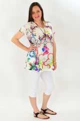 Butterfly Rainbow Tunic | I Love Tunics | Tunic Tops | Tunic | Tunic Dresses  | womens clothing online