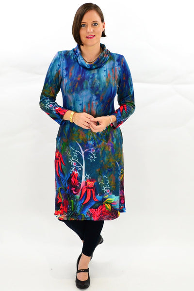Sturts Desert Pea Tunic Dress